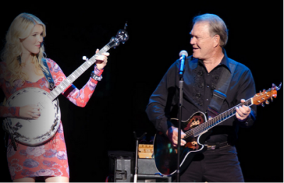 Glen Campbell with his daughter Ashley