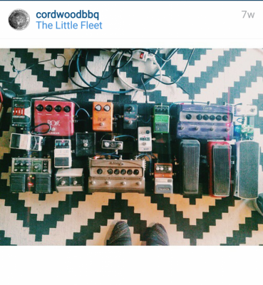 cordwoodbbq Instagram: the little fleet. Over a dozen amps.
